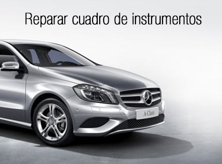 Reparar cuadro instrumentos Mercedes-Benz