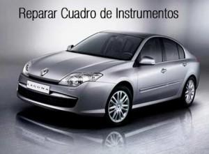 Reparar cuadro de instrumentos Renault