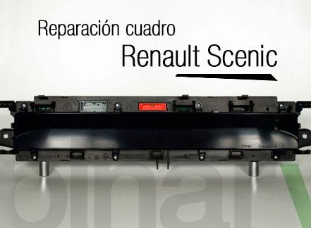 Reparacion cuadro instrumentos Renault Scenic