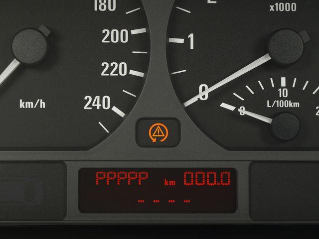 BMW BMW 3ER E 46 fallo cuenta kilometro