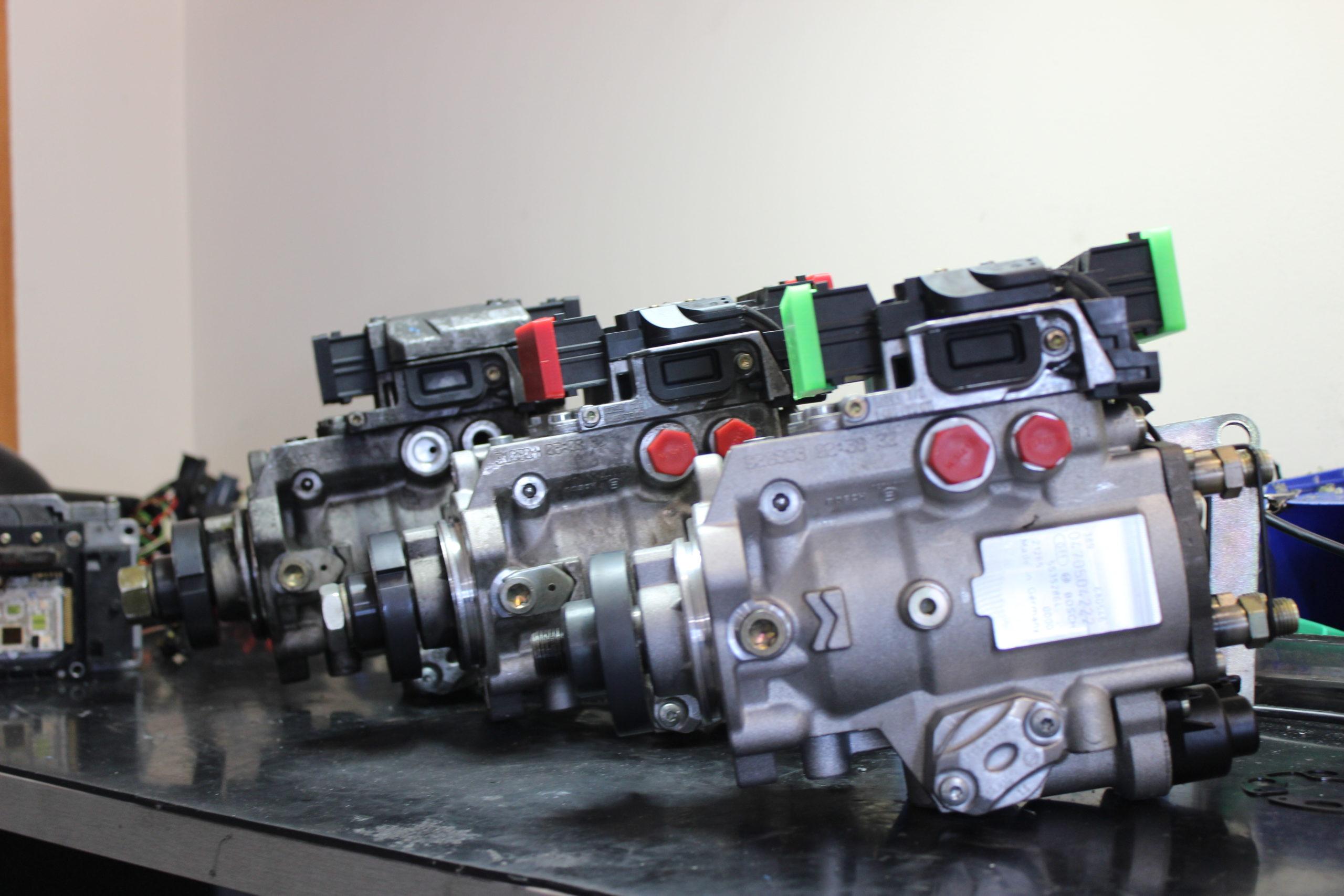 bombas de inyeccion mecanica del motor